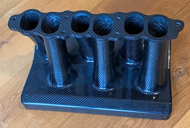 Motor-Bauteil aus Carbon Faserverbundmaterial